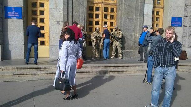 Обыски провели и в Харьковской мэрии