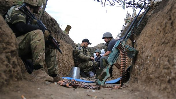 Завчерашний день наДонбассе 3 украинских военных ранены