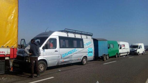 Авария на трассе Киев – Ковель