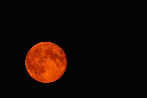 Моторошний місяць зійде у ніч на 17 вересня