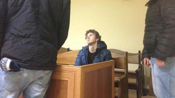 Станислав Толстошеев в суде