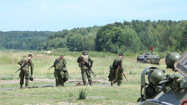 На Яворовском полигоне во время учений погиб солдат