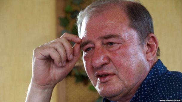 Ільмі Умеров знаходиться на примусовому