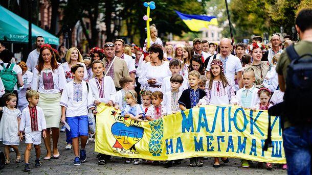 Парад вишиванок в Одесі