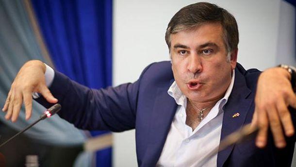Губернатор Одесской области Михеил Саакашвили