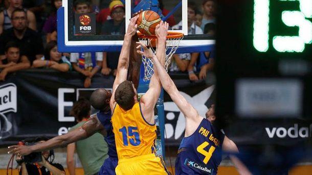 Сборная Украины едет на Евробаскет-2017