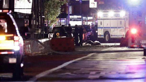 Последствия мощного взрыва на Манхэттене