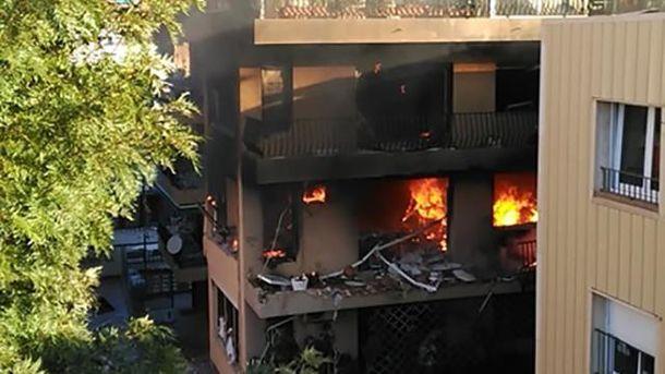 Взрыв в Испании