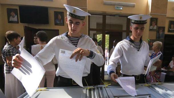 Фарс в виде выборов происходит в оккупированном Крыму