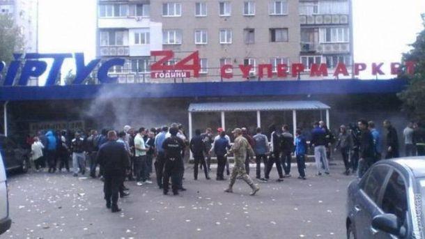 У Чорноморську розгромили супермаркет