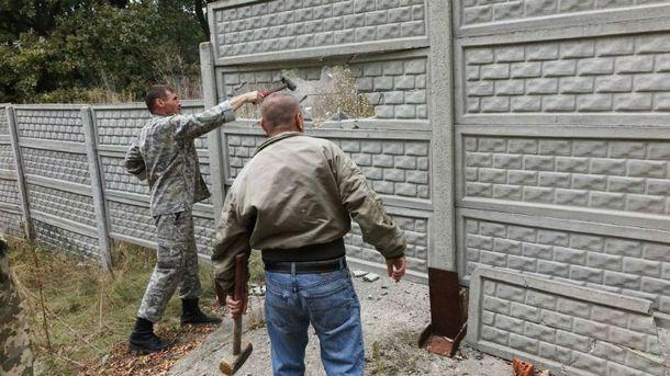 Активисты убеждены, что имение построили без разрешения