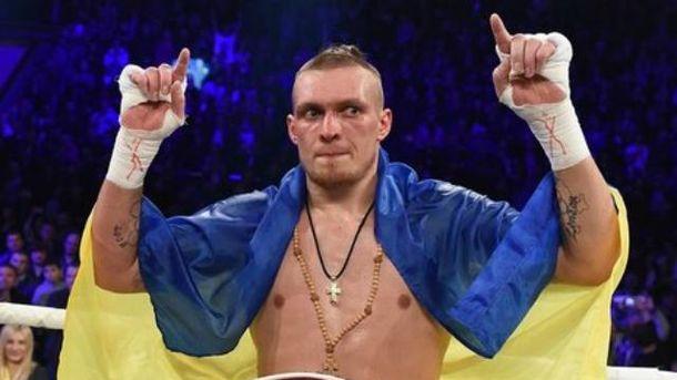 Олександр Усик став чемпіоном світу за версією WBO