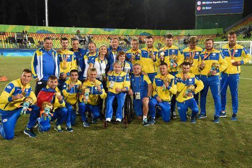 Наши паралимпийские чемпионы