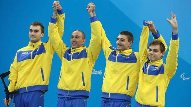 Украинские паралимпийцы возвращаются домой