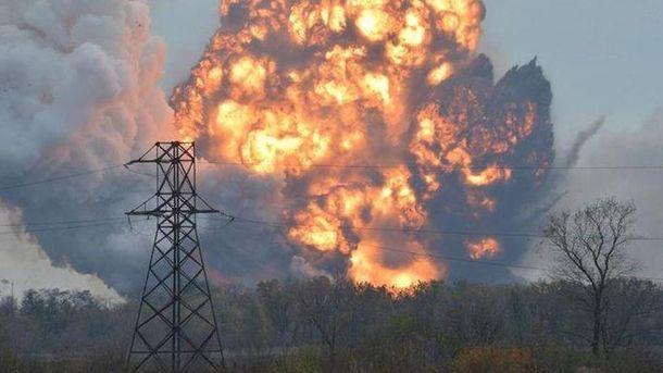 Из-за взрывов может пострадать гражданское население