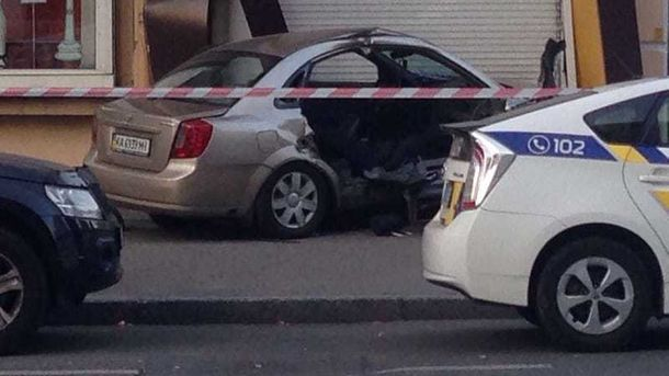 Столкновение такси и милиции: скончался пассажир Шевроле