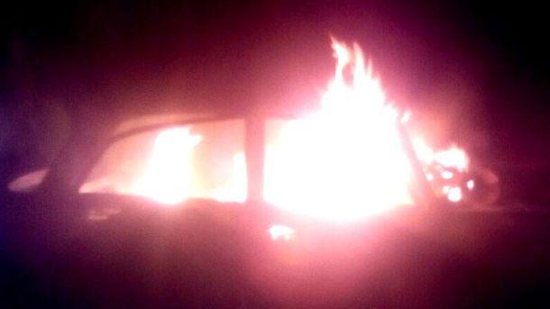 Пожар тушили около часа