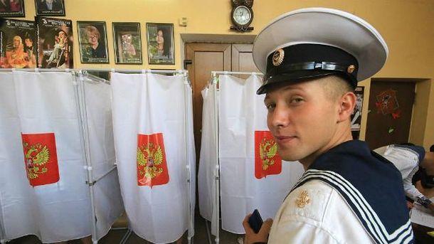 Россия провела фарс под видом выборов в оккупированном Крыму