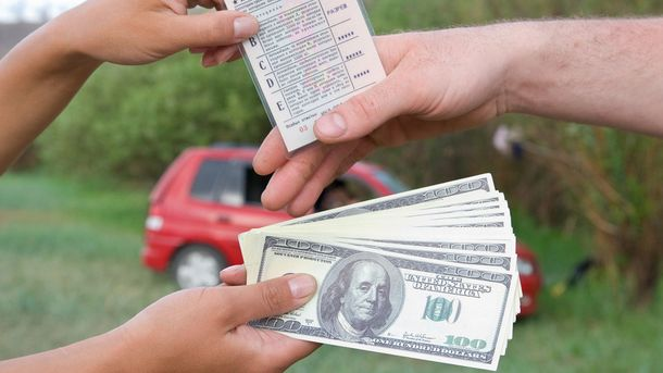 Деякі водії отримують права в корупційний спосіб