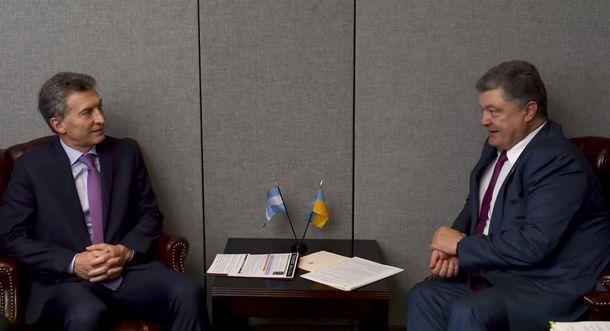 Президенты Украины иАргентины обсудили перспективы политических иделовых контактов между странами