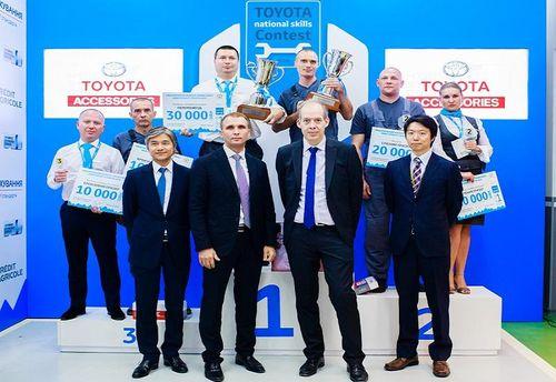 Сьомий Національний Конкурс Професійної Майстерності Toyota