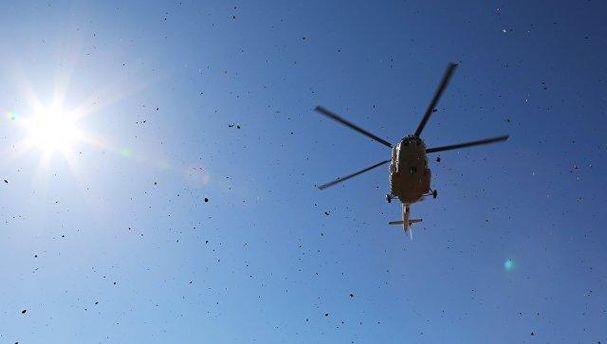 ВПодмосковье разбился вертолет МЧС: трое погибших
