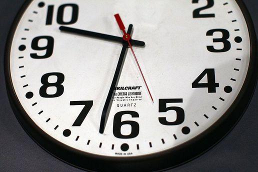 Часы нужно будет перевести на час назад