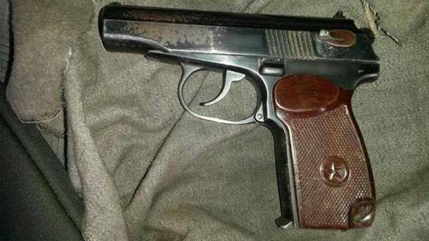 Обнаруженое оружие