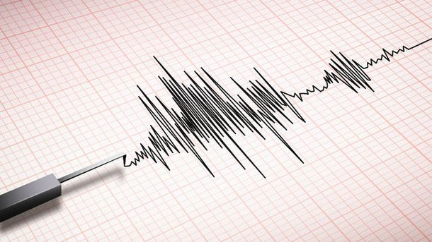 Землетрус відбувся у океані