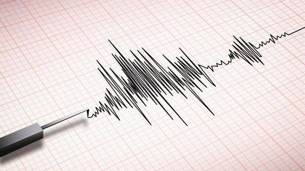 Землетрясение произошло в океане