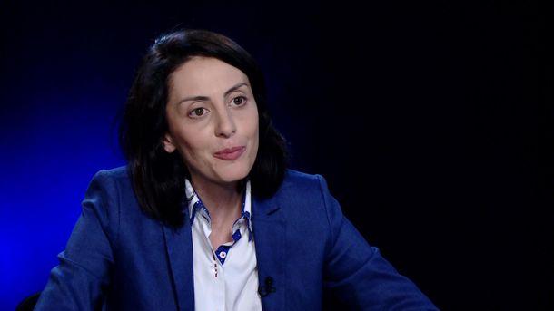 Голова Національної поліції Хатія Деканоідзе