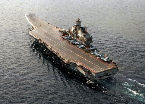 Российский авианесущий крейсер