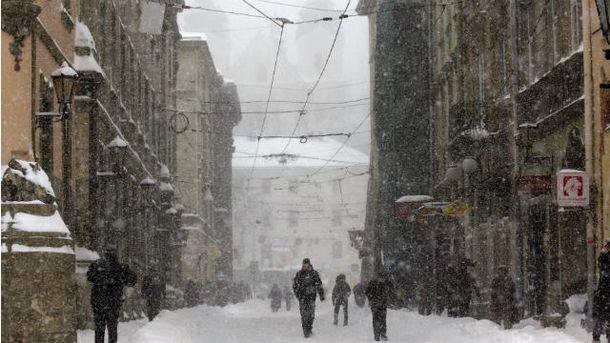 Зима в Украине будет очень холодной