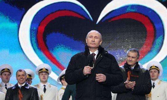 Путін у Криму