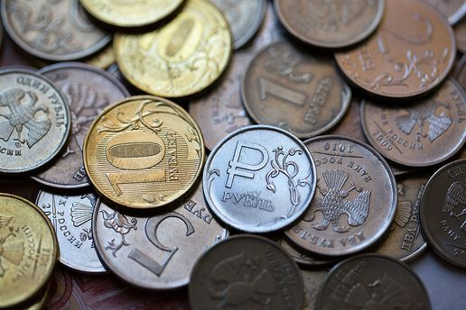 При цьому на Московській біржі рубль весь тиждень зміцнювався