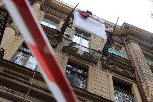 Обвалився балкон