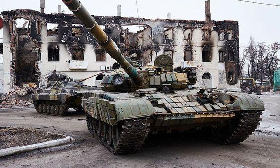 Боевики на«учениях» утопили три БМП,— агентура