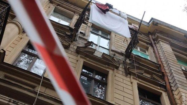 Будинок, у якому обвалився балкон