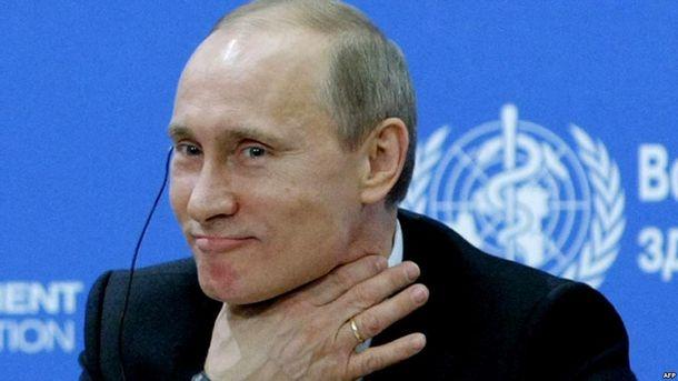 Володимир Путін погрожує