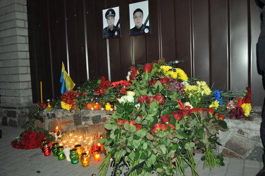 Погибшая полицейская Ольга Макаренко