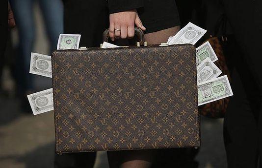 Чемодан с деньгами