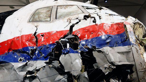 Обломки сбитого над Украиной Boeing рейса MH17