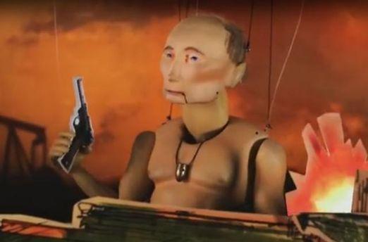 ВИзраиле сняли трэш-рекламу про Путина-танкиста