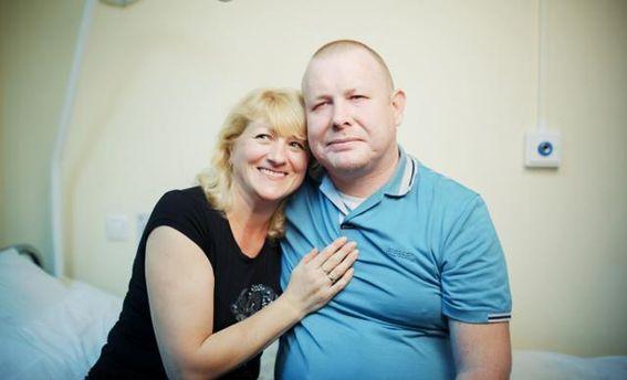 Володимир Жемчугов з дружиною