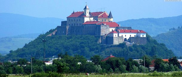 Замок Паланок у Мукачеві