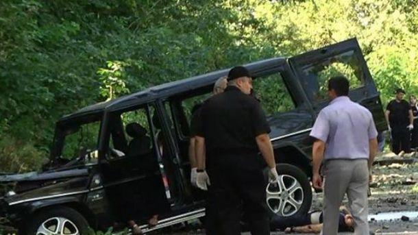 Поліція затримала підозрюваних узамаху нальвівського бізнесмена
