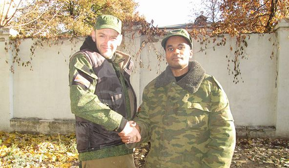Бенджамин Стимсон (слева)