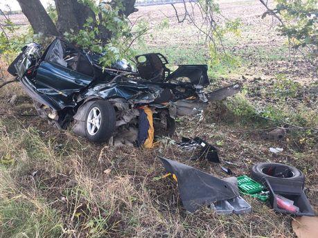 Аварія на Дніпропетровщині