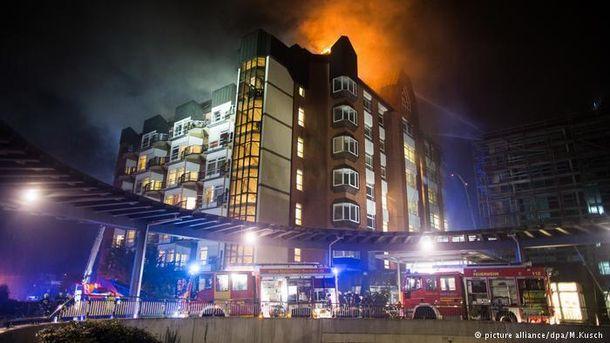 Впожаре вклинике Бохума погибли два человека