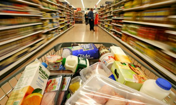 У супермаркеті
